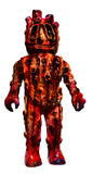 Garglmon Blurbleone Sofubi 1-Off Custom Topheroy Appealer Blood Bath Edition