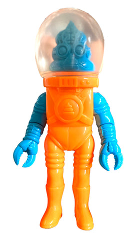 Goccodo Astro Unkotsu Sofubi Blank Unpainted Mixed Parts Orange Blue Soft Vinyl Figure