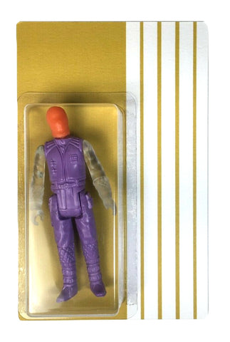 Green Plastic Tunnels Designer Toy Bootleg Resin Action Figure Like Star Wars