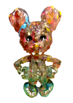 ICKY RAT Bubblegum Fucboi AEQEA Custom Artist Figure Resin Art Toy with Hand-Painted Cardback
