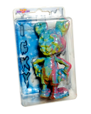 ICKY RAT Fink Jankwave X AEQEA Double-Sided Knockoff Bootleg Resin Toy Custom Painted Figure & Cardbacked Clamshell