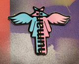 Human Supply Bipolar Pink/Blue Starhead Sticker