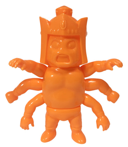 Kinnikuman Childhood Ashlaman Ashuraman Eraser Orange Unpainted Five Star Toy M.U.S.C.L.E. Soft Vinyl Figure