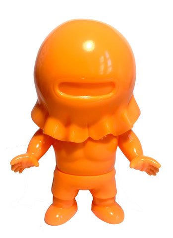 Kinnikuman Childhood Warsman Nikolai Eraser Orange Unpainted Five Star Toy M.U.S.C.L.E. Soft Vinyl Figure