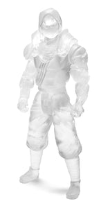 Knights Of The Slice Device Ninja Stealth Deluxe Clear Resin Toy Pizza Action Figure