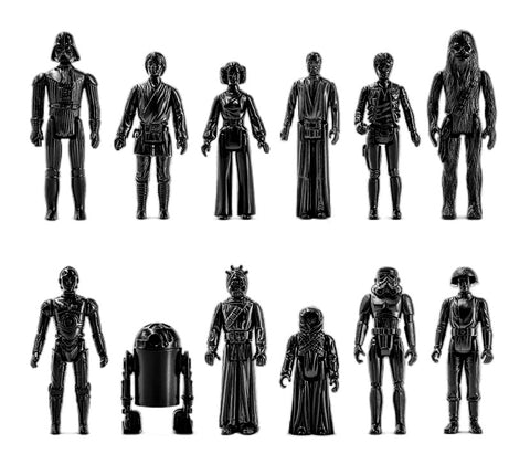 Magoob Space Movie Figure Set of 12 Cease & Desist Edition Bootleg Resin Art Toys