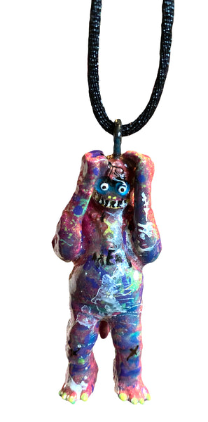 Media Psychosis (Self Induced) AEQEA Pendant Custom M1 Ultraman Mini Ultra Q Acro PVC Figure Necklace