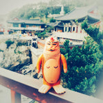 Monk Sealmon Sofubi Soft Vinyl Designer Art Toy by Montoz Studio Korea
