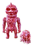 Mutant Vinyl Hardcore Meats Zug Troll Sludge Demon Sofubi Set MVH Marbled Designer Toys