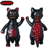 Nyagoth Guardian Angel Cat Sofubi Nyagos Kaiju Lacquer Version Medicom Action Figure Designer Toy