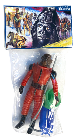 Pelixplus Planet of the Apes VII Mexican Bootleg Rare Action Figure Art Toy