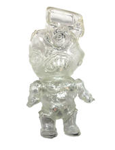 Load image into Gallery viewer, Phobia Toys tV HeAd Sofubi Clear Translucent Binbizii Soft Vinyl Designer Toy Figure