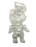 Phobia Toys tV HeAd Sofubi Clear Translucent Binbizii Soft Vinyl Designer Toy Figure