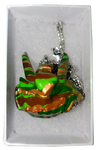 TEQ63 1.75 Inch Pendant Head Necklace by Quiccs, Josh Mayhem, Martian Toys LE24