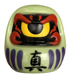RealxHead RxH Fortune Daruma Sofubi (フォーチュンだるま) Olive Soft Vinyl Dharma Figure DCON 2017 Exclusive