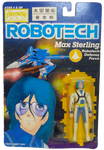 Robotech Macross Max Sterling 1985 Action Figure Carded Harmony Gold Retro Sealed on Card