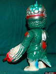 RealxHead Mutant Chaos Sofubi Green Blue Red Metallic Soft Vinyl Designer Toy