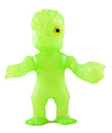 RealxHead Mutant Chaos Man MC-15 Sofubi Green Blank Soft Vinyl Unpainted Toy