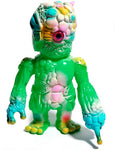 RealxHead Mutant Chaos Sofubi Green Soft Vinyl Pastel Spray Toy Karma Exclusive
