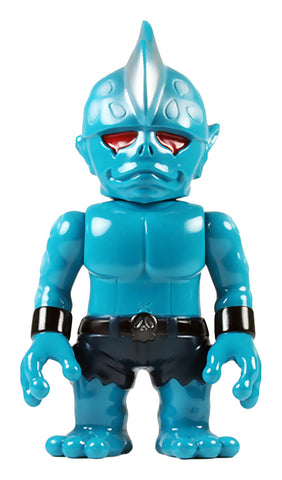 RealxHead Mutant Head Sofubi Aqua Blue w/ Black Shorts Soft Vinyl Figure