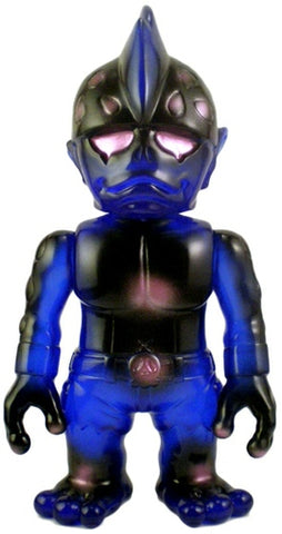 RealxHead Mutant Head Sofubi Blue Soft Vinyl Figure