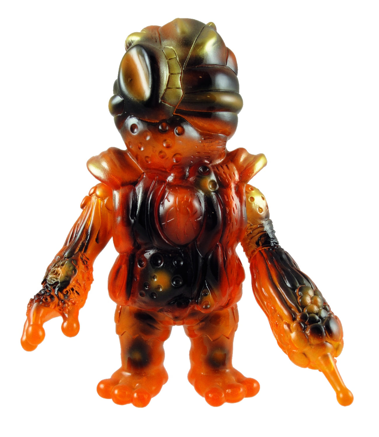 RealxHead Organ Bat Super7 Exclusive Mutant Orange Sofubi Soft Vinyl Figure Designer Toy