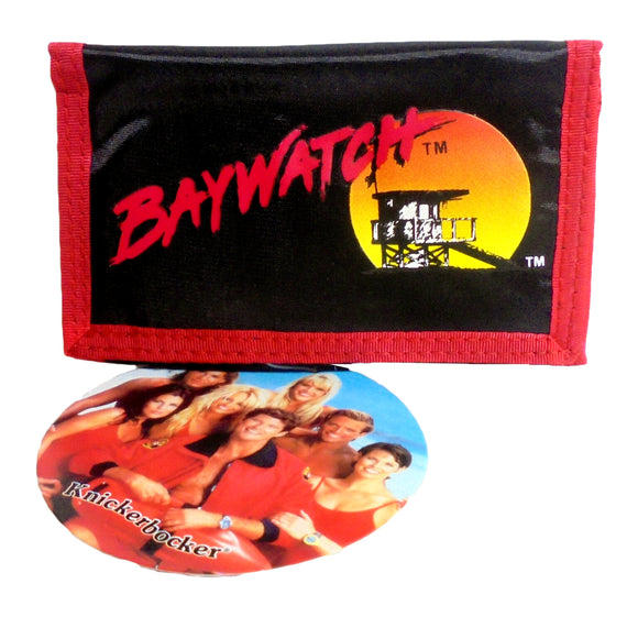 Retro Baywatch Wallet Vintage Black Billfold 5