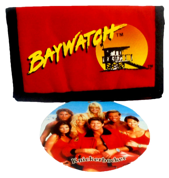 Retro Baywatch Wallet Vintage Red Billfold 5
