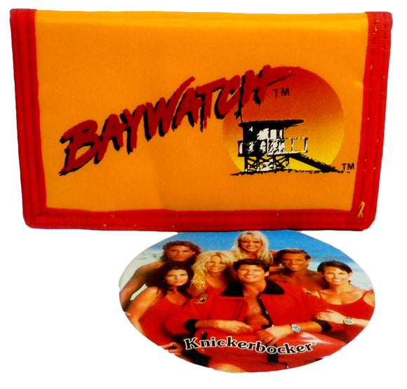Retro Baywatch Wallet Vintage Yellow Billfold 5