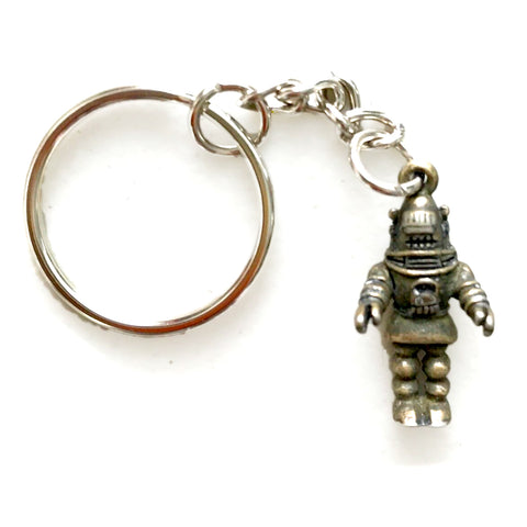 Robby the Robot Pendant Key Ring Forbidden Planet Keychain