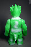 RealxHead ShintoSan Secret WHF Sofubi White Spray on Green Soft Vinyl Figure Designer Toy