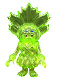 SIO Maharaja Sofubi Kaiju Rare Angel Abby Clear Green Blank Unpainted Designer Toy Figure