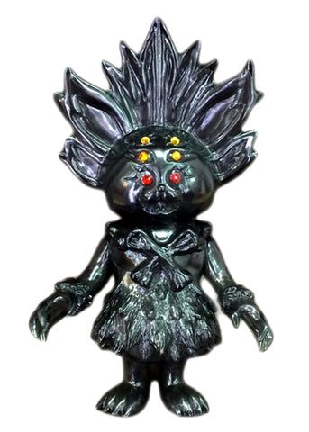 SIO Maharaja Sofubi Kaiju Rare Angel Abby Clear Black Smoke Edition Unpainted Figure