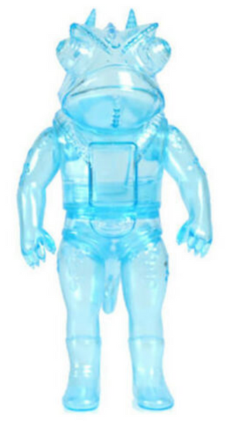 Loop Goccodo Clear-Blue Rainy Day Sofubi Kaiju Yamakichya Toy Figure Yamomark