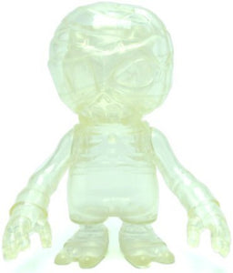 Secret Base Damage Brain Clear Translucent Mummy Sofubi Figure Designer Toy