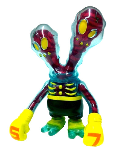 Secret Base Ghostfighter Inner Demons Red Sofubi Urban Vinyl Designer Toy Super7 Exclusive SDCC 2007