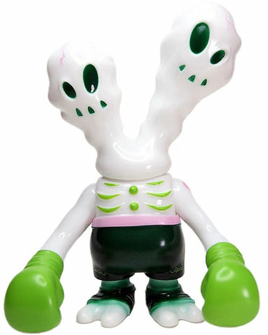 Secret Base Ghostfighter White Day Sofubi Urban Vinyl Designer Toy Super7 2006 Subscriber Version