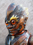 RealxHead ShintoSan Metallic Copper Color Sofubi Soft Vinyl Figure Designer Toy
