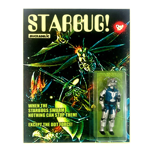 Suckadelic Starbug! Custom Carded Repurposed Action Figure by Suck Lord