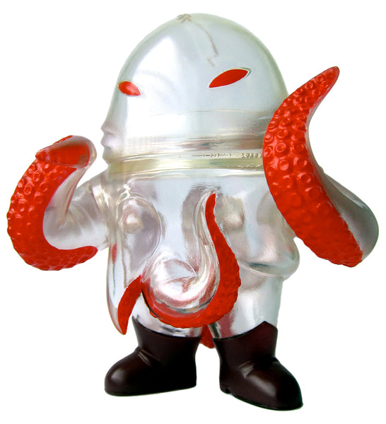 Super7 Squirm Blood Rage Sofubi Snakes of Infinity Clear Painted Kaiju Soft Vinyl Designer Art Toy Figure