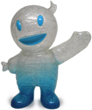 Load image into Gallery viewer, Super7 Mummy Boy Clear Glitter Painted Blue Sofubi LB Kaiju by Brian Flynn x Gargamel