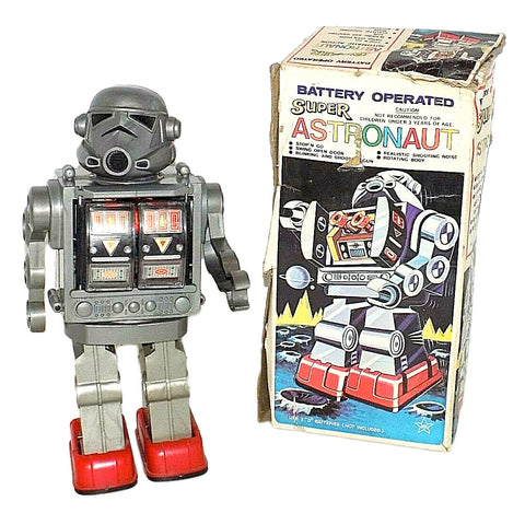 Vintage Bootleg Stormtrooper Super Astronaut Hong Kong Knockoff Robot Horikawa Star Wars Toy Box No.107