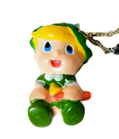 Ribbon Knight Chink Soft Vinyl Pendant Vintage Sofubi Necklace Thing At That Time Figure