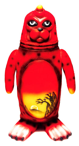 Sealmon Sofubi Folk Art Edition Vinyl Spray Colorway Designer Toy by Montoz Studio Korea