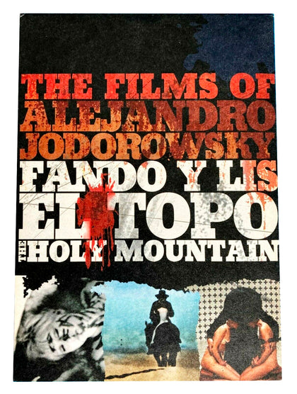 The Films of Alejandro Jodorowsky: Holy Mountain / Fando y Lis / El Topo (DVD/CD set)