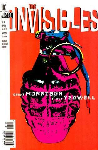 The Invisibles: Grant Morrison original single issue comic books vol 1-3 (1994-2000)