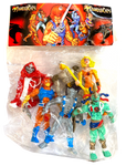 Thundercats Mexican Bootleg Toy Parody Type Figures Set