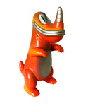 Tim Biskup Big Pollard Vermillion Brother Sofubi Kaiju Hand Painted Sofvi Soft Vinyl Designer Art Toy