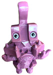 Insult Monster Fu-King Sofubi The Finger Touma Unpainted Purple Soft Vinyl Designer Toy Japan