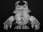 Touma x One-Up Skuttle X Clear Sofubi Kaiju Sofvi Unpainted Soft Vinyl Designer Toy